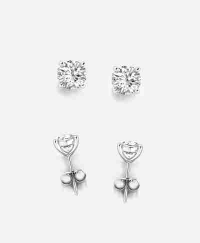 Diamond Stud Earrings - Guthrie's Jewellers