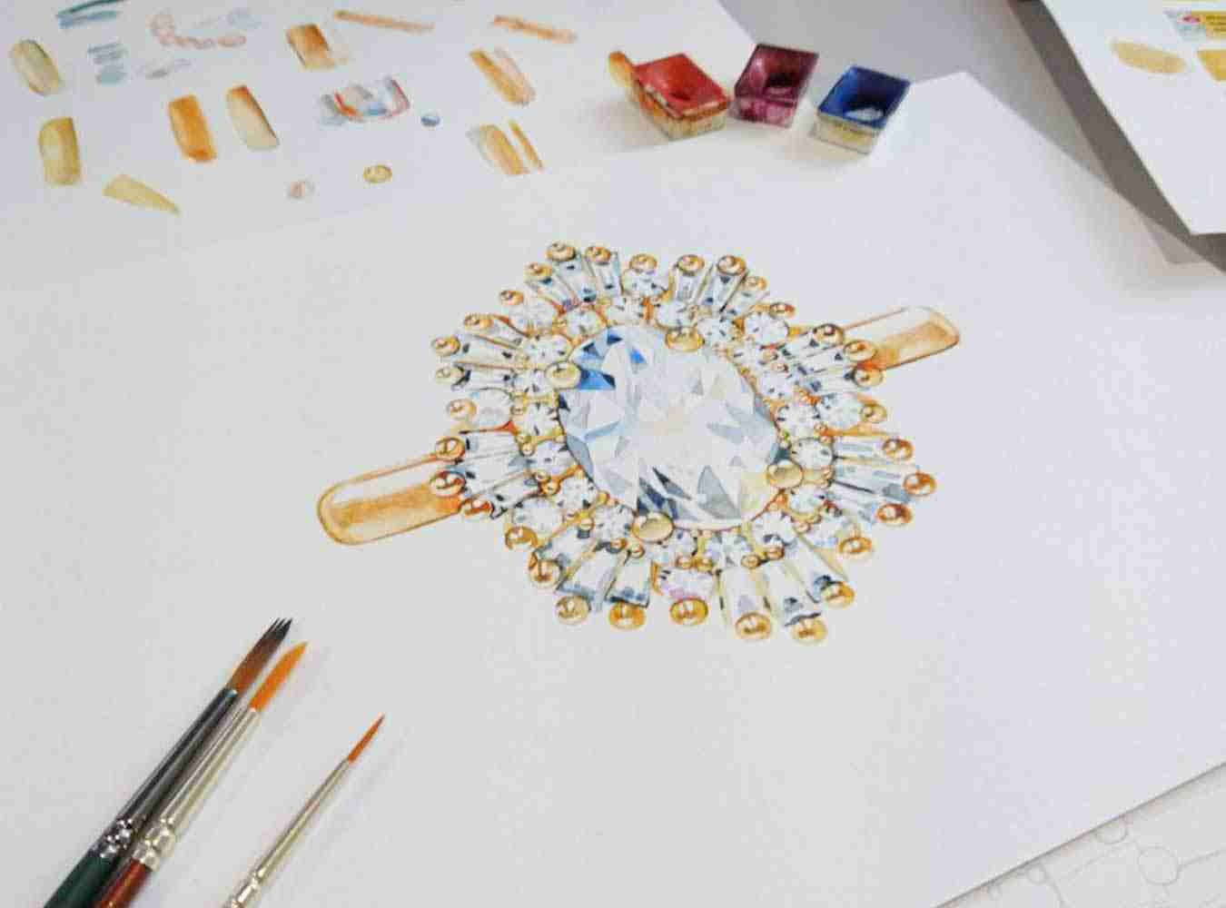 How the process works when you commission Guthrie's to craft you a bespoke piece of jewellery