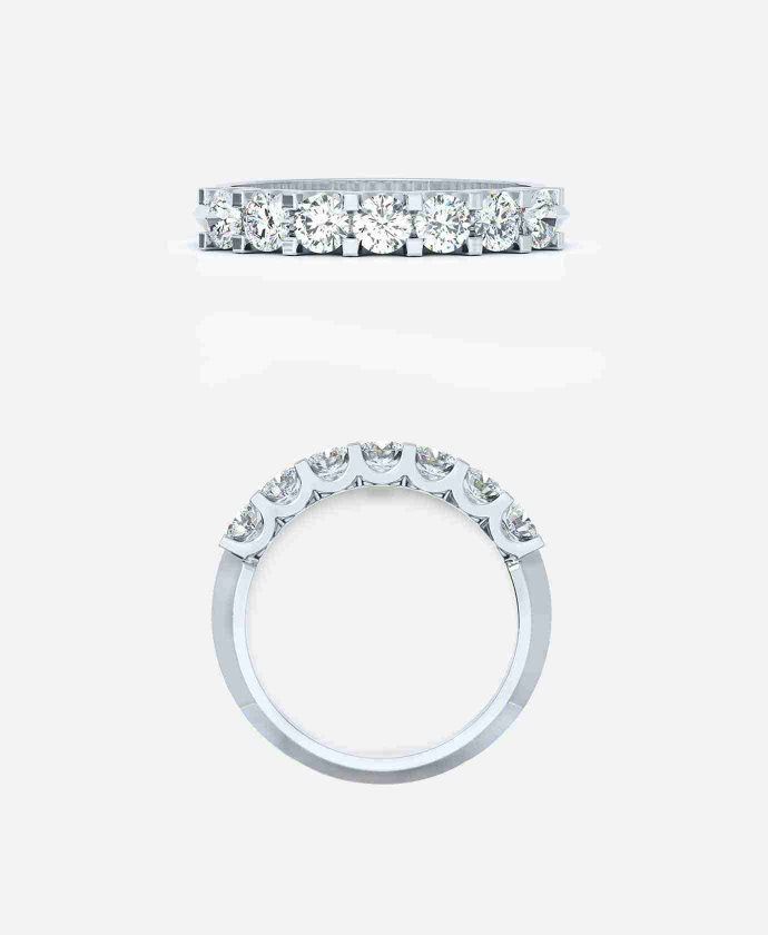 Round Brilliant Eternity Ring - Guthrie's Jewellers