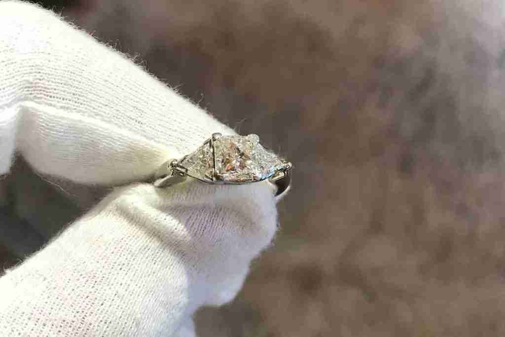 Princess Cut Dress Ring - Guthrie's Jewellers Past Commission
