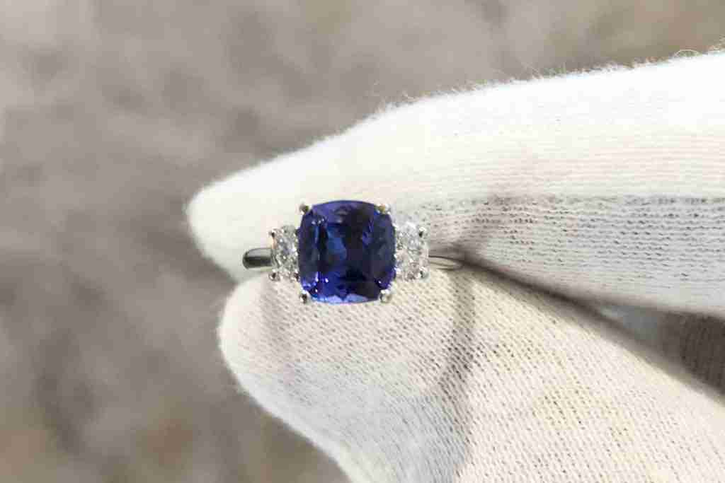 Tanzanite Dress Ring Guthrie's Jewellers