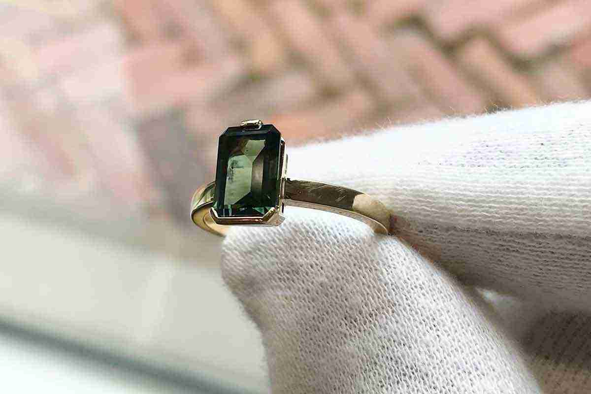 Tourmaline Dress Ring Crafted by Guthrie's Jewellers