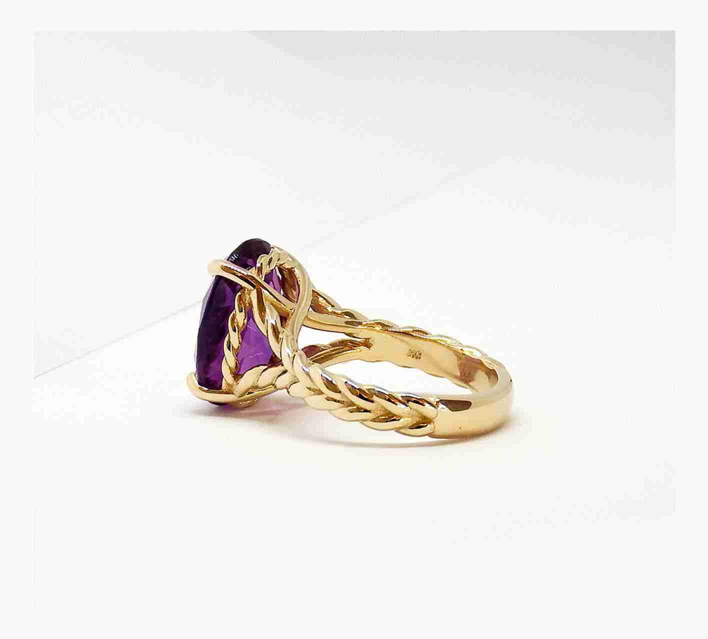 Guthrie's Jewellers Contemporary Rope Ring